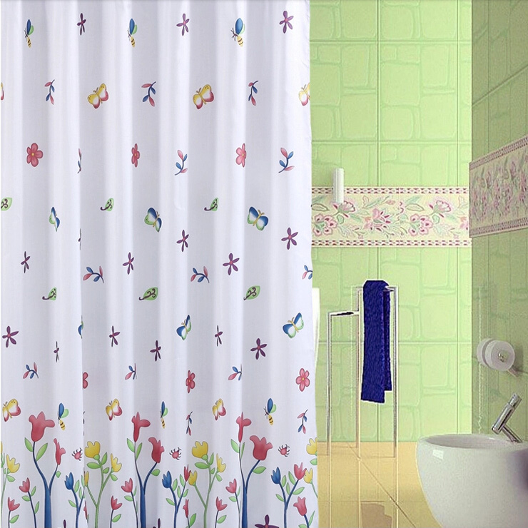pics photos elegant butterfly shower curtain