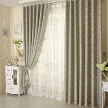 Multi-color Discount Floral Fancy Window Curtains