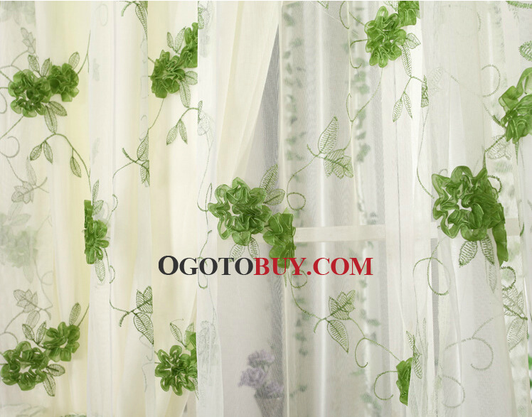 Lace Happy Country Window Curtains for Bedrooms, Buy colorful ...