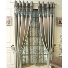 Modern Design Polyester Jacquard Best Curtains