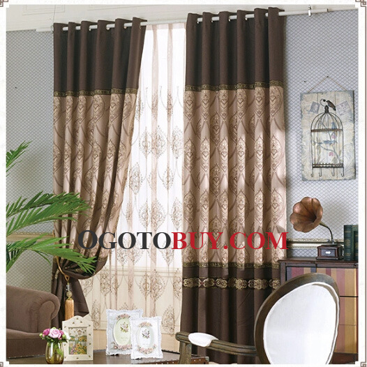 Loading Zoom Wholesale New Classic Custom Made Jacquard Traditional Curtains