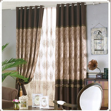 Wholesale New Classic Custom Made Jacquard Traditional Curtains