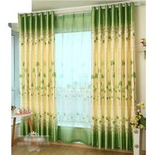 Green Blackout and Energy Saving Very Long Curtains