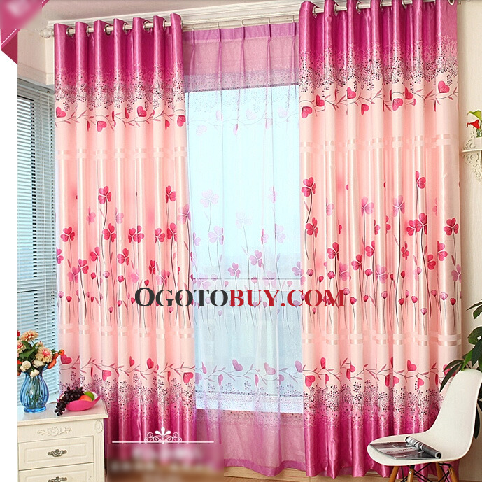 loading zoom pink colored inexpensive curtains