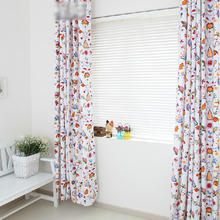 Eco-friendly Thick Cotton Inexpensive Window Curtains