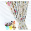 Cute Simple Custom Made Home Floral Bedroom Curtains