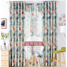Cotton and Linen Texture Custom Design Curtains