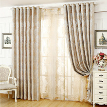 Simple and Modern Soundproof Window Treatment Curtains