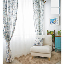 Modern Curtains Designs of Spindrift Patterns of 2 Panels