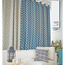 Blue Whale and Anchor Design Children Blackout Curtains