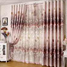 Beautiful Country Curtains with Tulip Patterns for Sweet Home