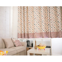 Kids Star Patterns Bay Window Curtains Online Shopping