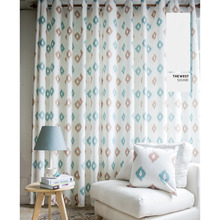Cotton and Linen Bedroom or Living Room Curtains Pictures