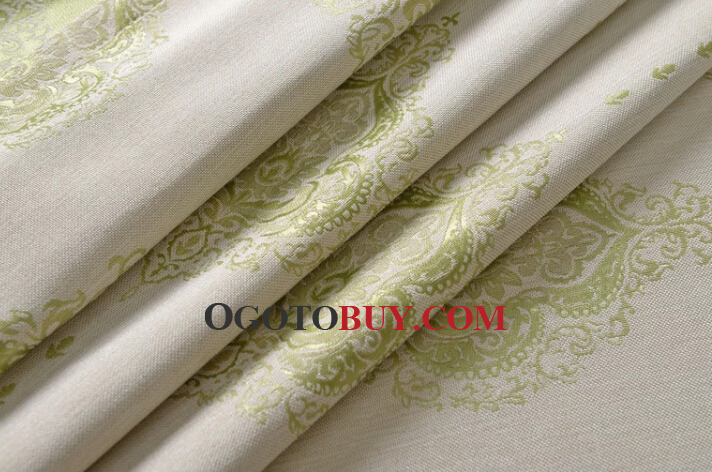 New Jacquard Modern Living Room Country Curtains Clearance, Buy ...