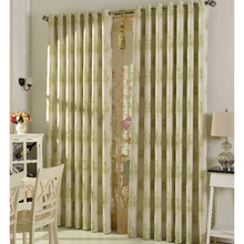 New Jacquard Modern Living Room Country Curtains Clearance
