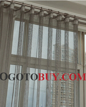 ... Excellent Matching Custom Made Grey Sheer Curtains ...