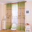 Green Country Bedroom or Room Separator Curtains