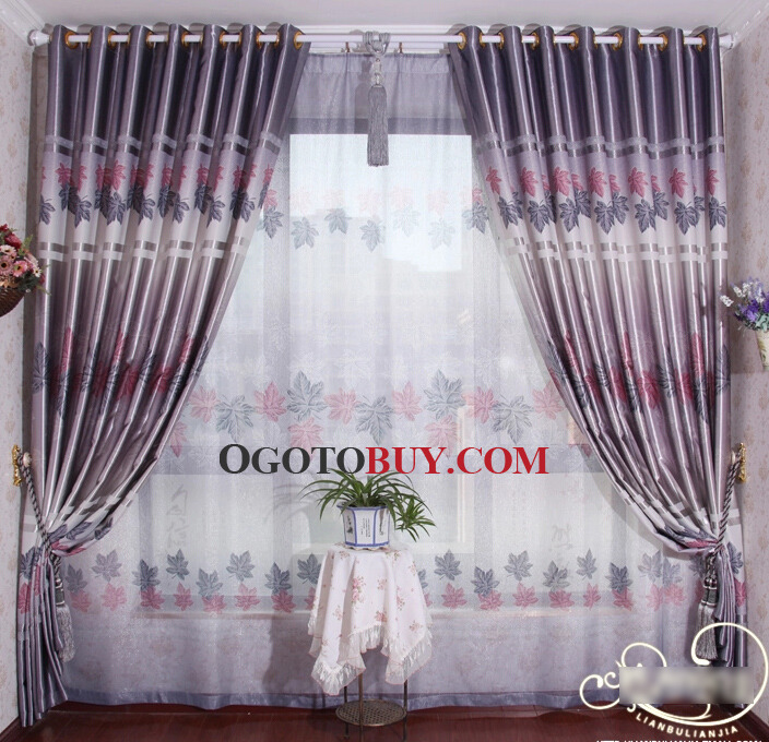 grey bedroom curtains.  Silver Grey Bedroom Curtains in Changing Color with Leaf Pattern