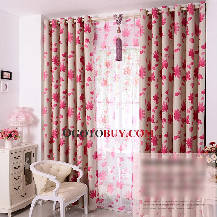 Charming Loading Zoom. Leaf Multi Color Two Panels Modern Drapes Curtains ...