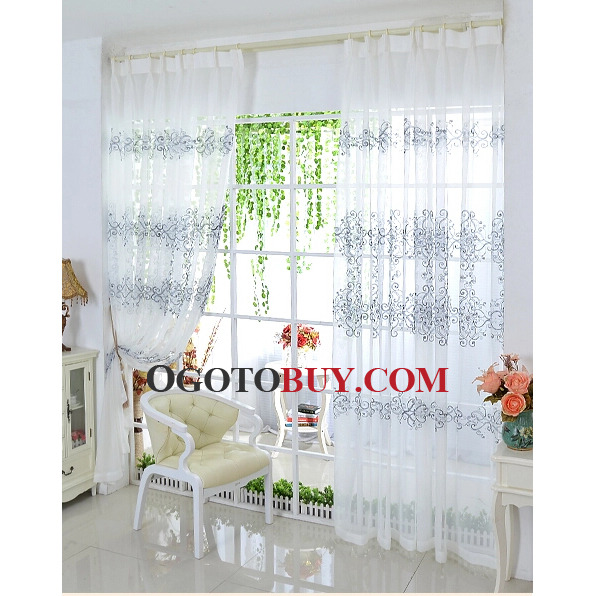 Custom Made or Ready Made Sheer Curtains for Home Windows, Buy Eco ...