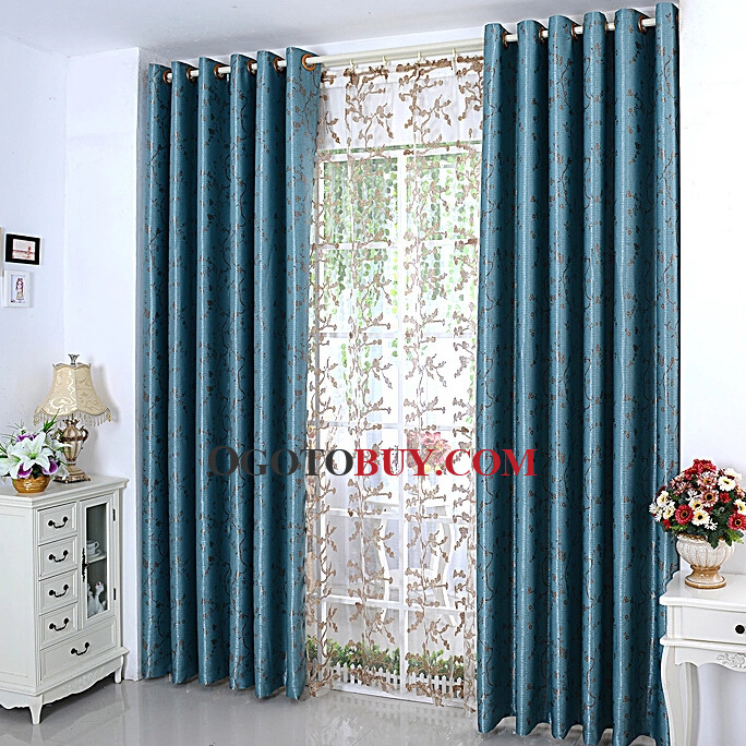 Excellent Designer Fabric Curtains with Floral Patterns for Home ...
