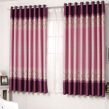 Amazing Kids Bay Window Floral Room Divider Curtains