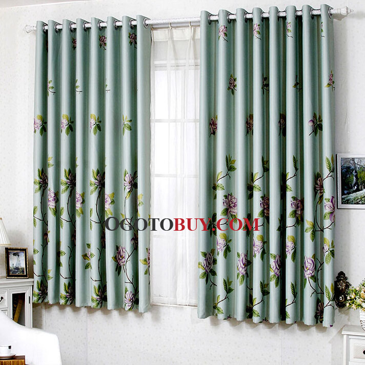 Living Room Floral Primitive Country Curtains Loading Zoom