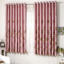 Floral Energy Saving and Thermal Window Curtains