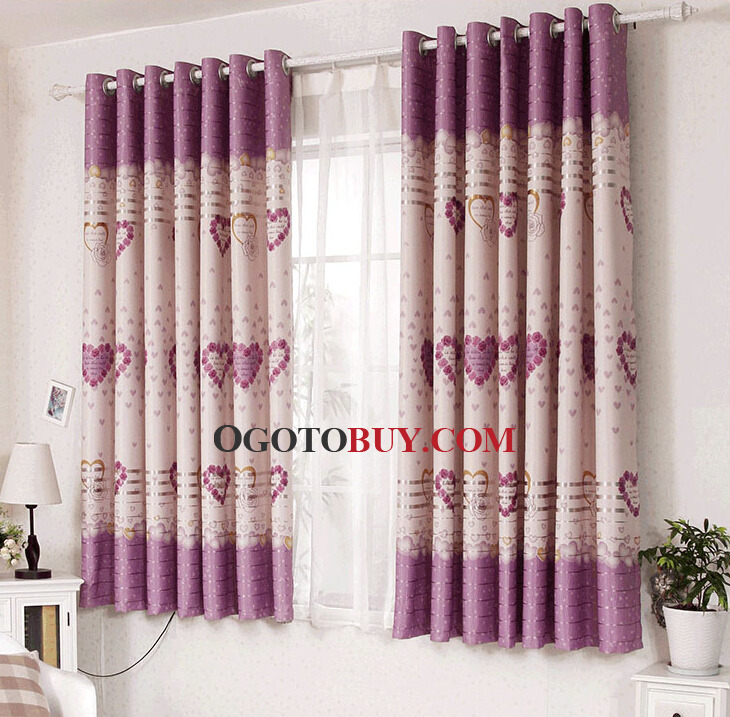 Printed Bay Window Curtains Ideas In Short Loading Zoom