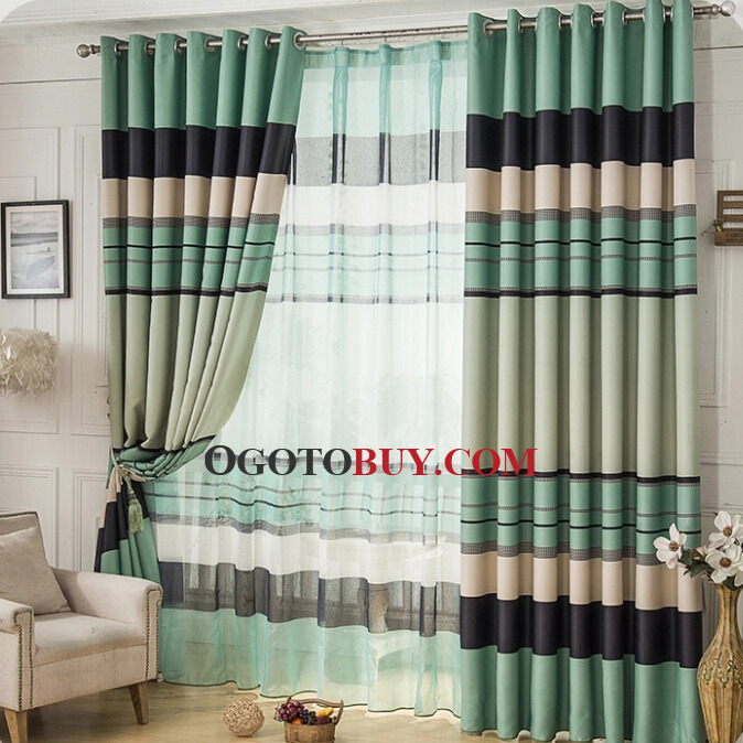 Living Room Green Curtains Uk Style Loading Zoom
