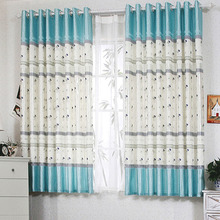 Cheap Curtains And Drapes of Coconut Tree Patterns