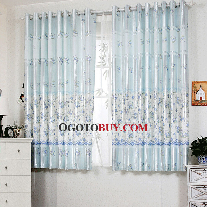 light blue window curtains the hippest. Black Bedroom Furniture Sets. Home Design Ideas