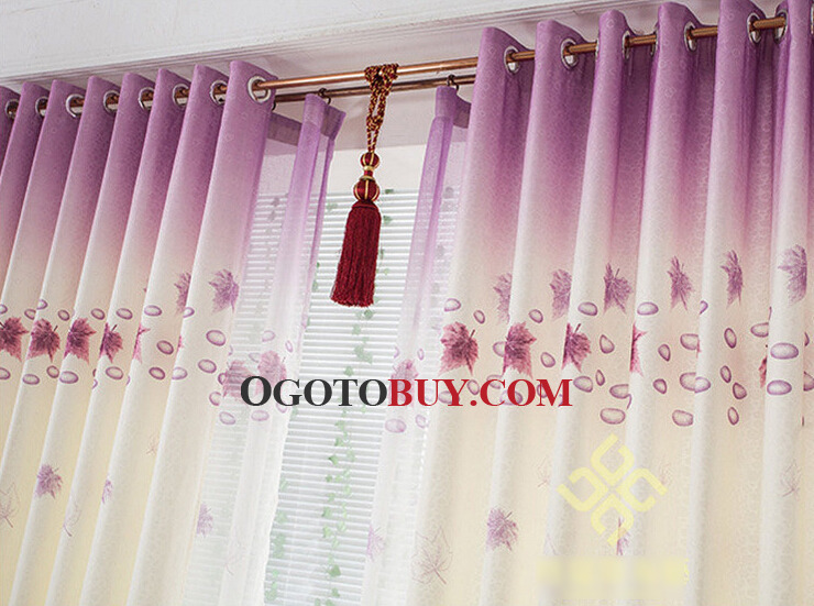 Custom Made or Ready Made Curtains Online with Maple Leaf, Buy ...
