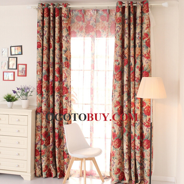 How To Buy Curtains Bright Colorful Cotton Fabric, Buy colorful ...