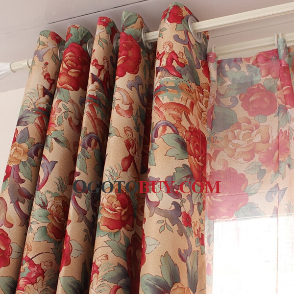 ... How To Buy Curtains Bright Colorful Cotton Fabric ...