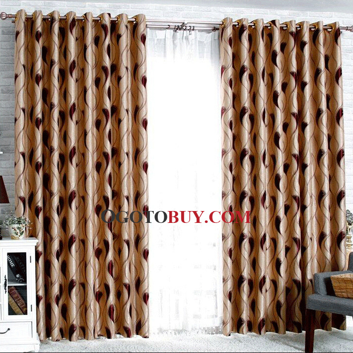 Primitive Curtains For Living Room. Elite Casual And Primitive Style  Curtains In Burgundy Color