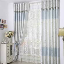 Cotton and Polyester Exquisite Extra Wide Thermal Curtains