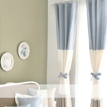 Elite Splice Modern Nautical Style Living Room Curtain