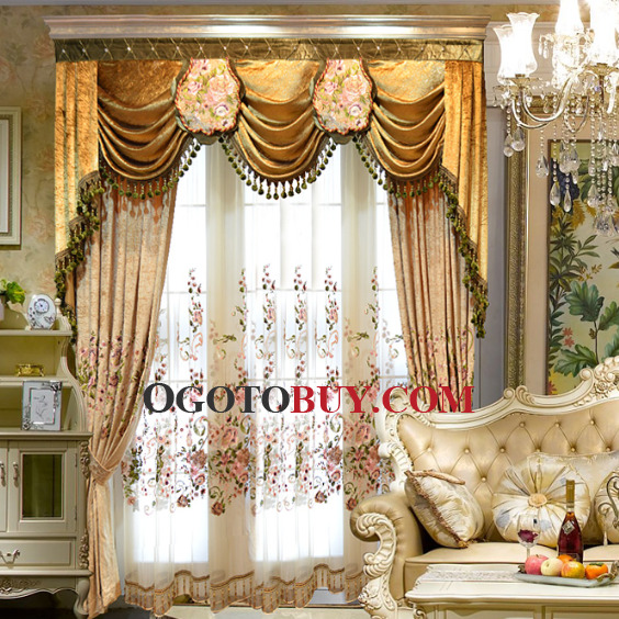 patterned curtains for living room.  Pattern Curtain For Living Room Loading zoom Luxury European Style Floral Buy