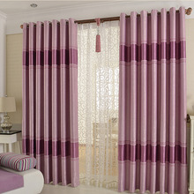 Jacquard Patterned Blackout Curtain for Living Room or Bedroom