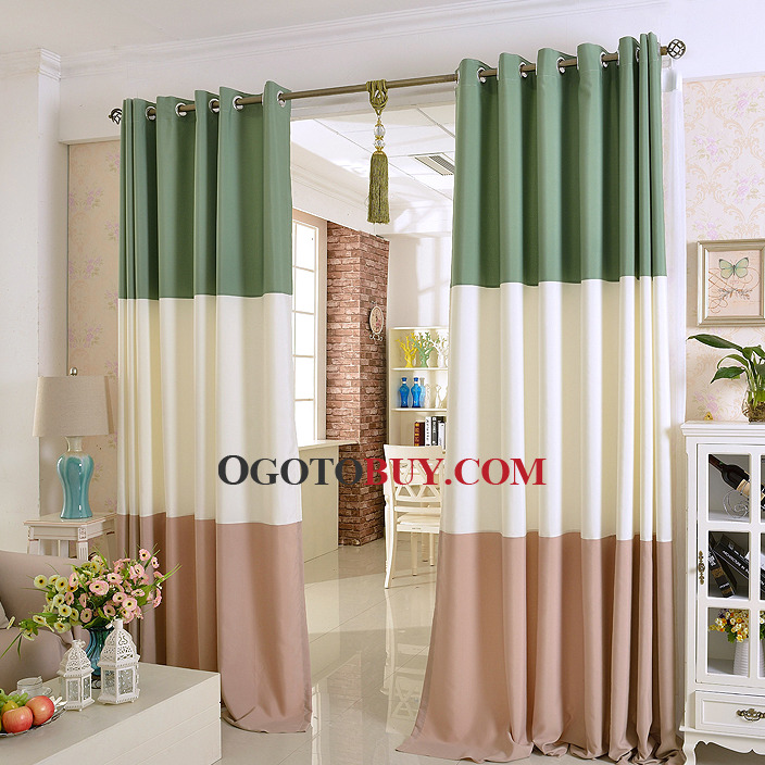... Simple Modern Style Blackout Thermal Curtain For Living Room. Loading  Zoom Part 36