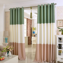 Simple Modern Style Blackout Thermal Curtain For Living Room