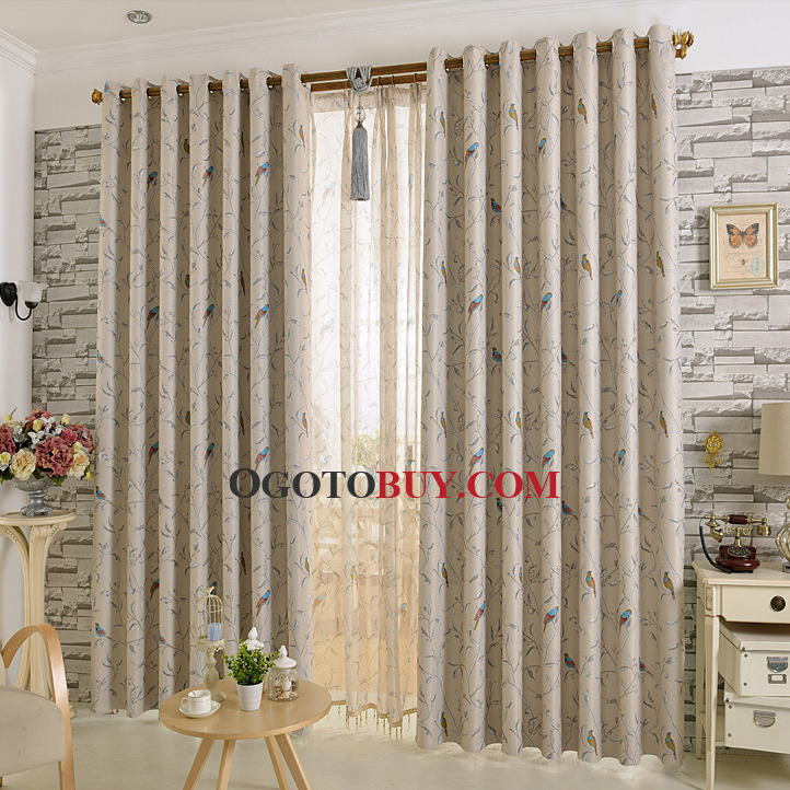 Silk Curtain For Living Room Loading zoom
