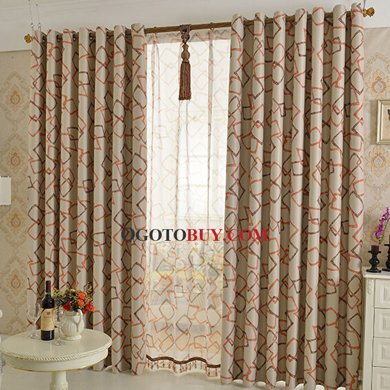 insulated room darkening curtain loading zoom - Room Darkening Curtains