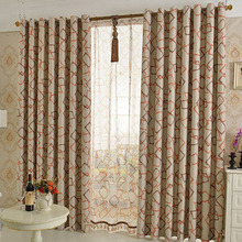 Simple Modern Printed Geometric Insulated Room Darkening Curtain