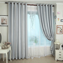 Silver Blackout Lining Thermal and Light Insulated Curtain