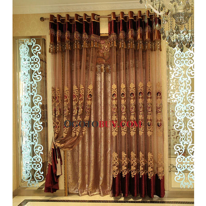 Decorative Sheer Curtain For Living Room Loading Zoom