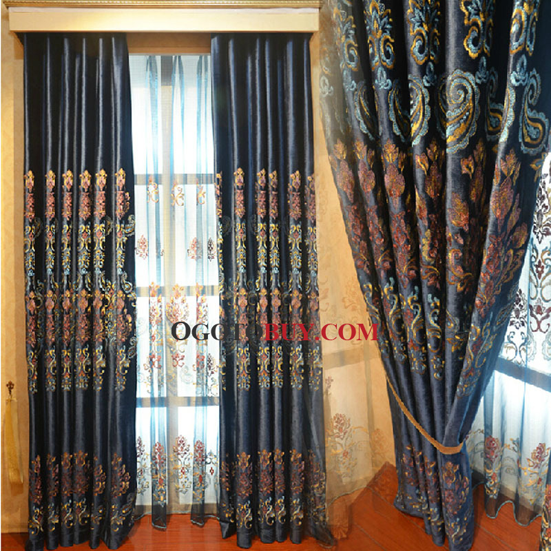 Yellow curtains design ideas navy blue curtains in for Modern living room curtains uk