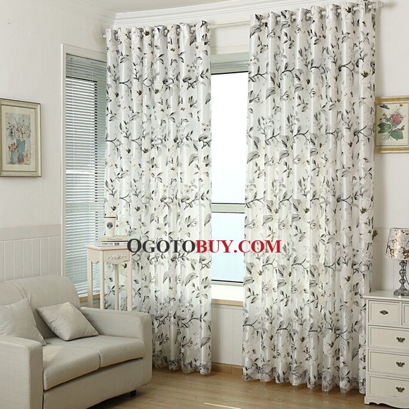 Good ... Floral Curtain For Living Room And Bedroom. Loading Zoom Part 2