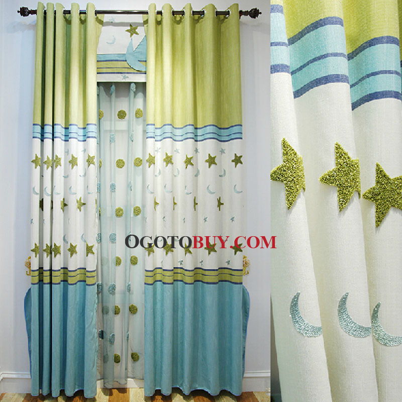Kids curtains cycle 4 is here astonishing ideas for kids for Kids drapery fabric